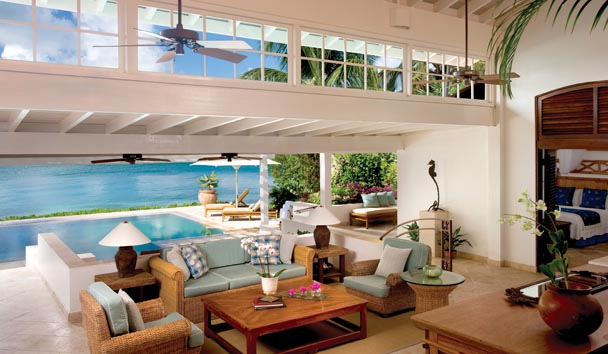 Sea Horse Villa at Jumby Bay, A Rosewood Resort , Antigua