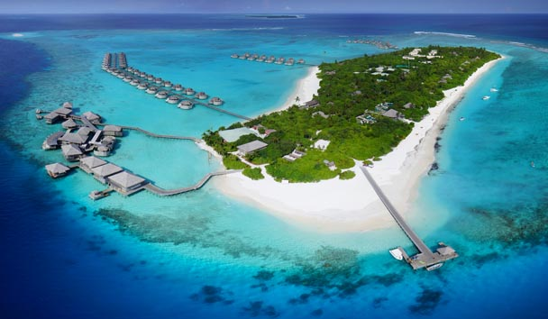 Six Senses Laamu: Aerial View