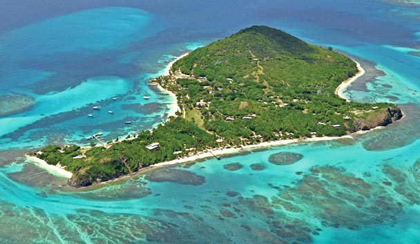 Petit St Vincent Private Island: Aerial View