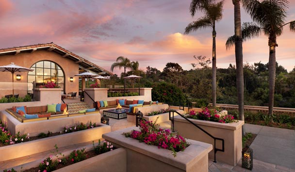 Rancho Valencia Resort & Spa: Outdoor Seating