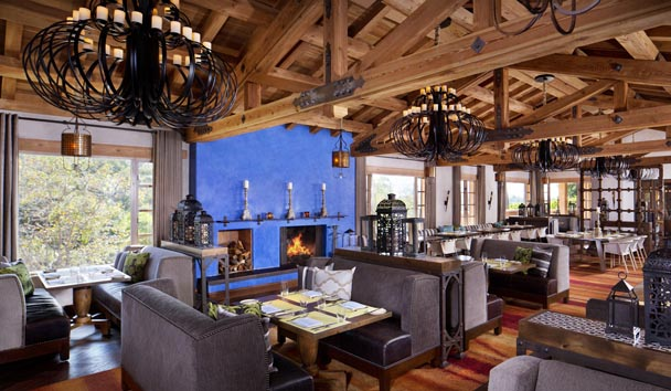 Rancho Valencia Resort & Spa: Veladora Dining Room