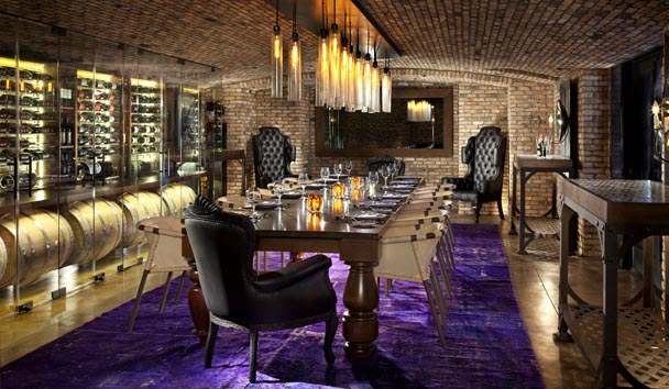 Rancho Valencia Resort & Spa: Wine Room