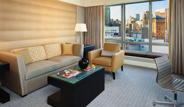 Four Seasons Hotel San Francisco: Executive Suite