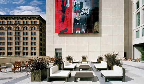 The St. Regis San Francisco: Outdoor Terrace