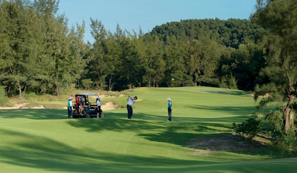 Banyan Tree Lang Co: 18-hole Golf Course