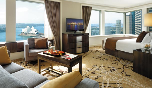 Shangri-La Hotel, Sydney: Premier Grand Harbour View Room