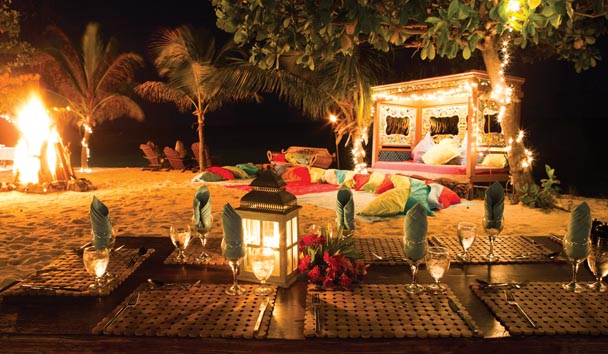 Necker Island: Beach
