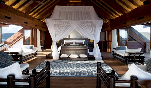 Necker Island: Individual Room Interior