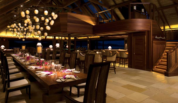Necker Island: Dinner at the Great House
