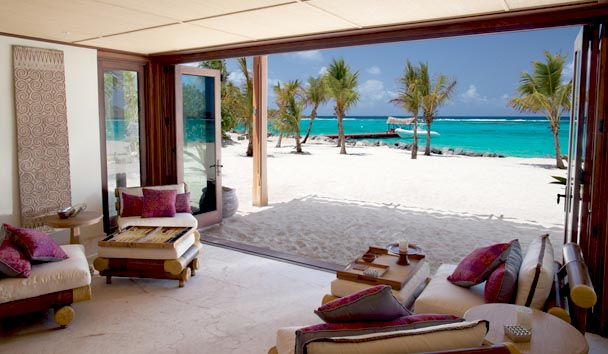 Necker Island: Direct Beach Access