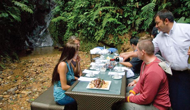Mashpi Lodge: Rainforest Dining