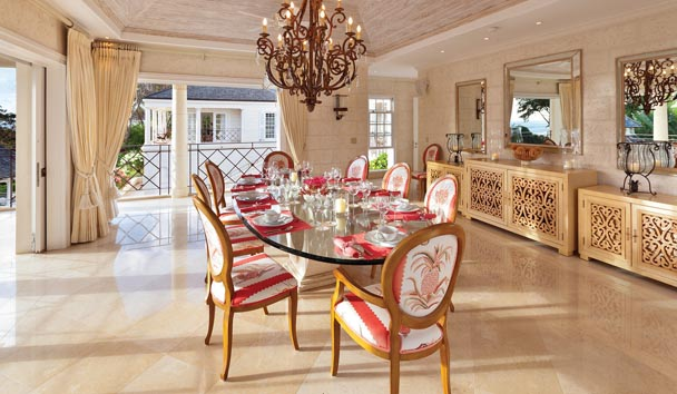 Illusion Villa at Sugar Hill Estate: Dining Room