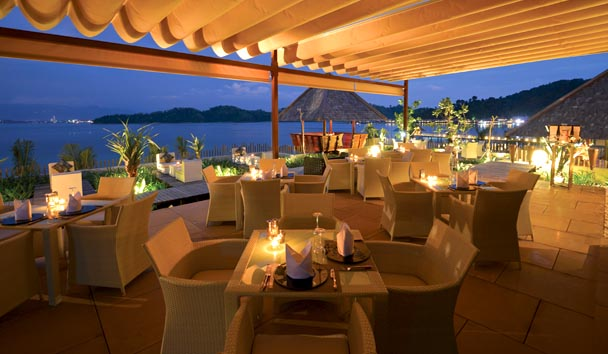 Gaya Island Resort: Fisherman's Cove Rooftop Dining