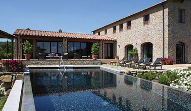 The Farmhouses at Castello di Casole: Farmhouse Private Pool