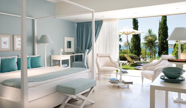 Junior Suite Private Garden, Sani Beach Club