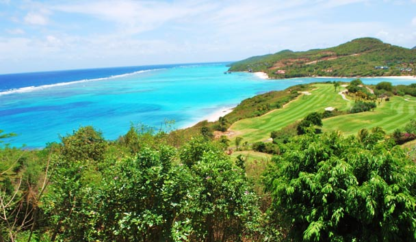 Else Where: Views of Surroundings and The Grenadines Estate Golf Course