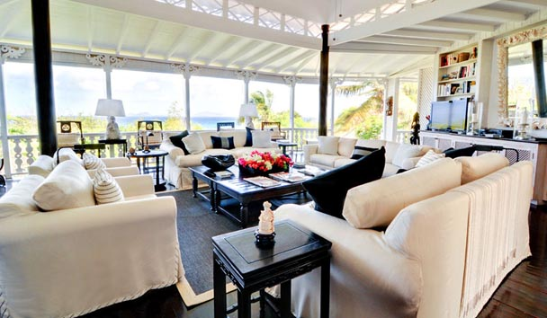 Gingerbread, Mustique: Lounge