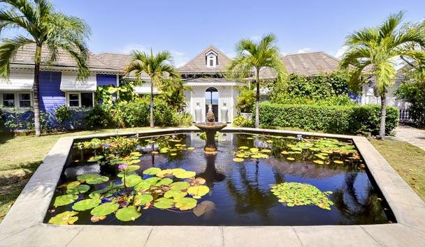 Gingerbread, Mustique: Lillypad Pond