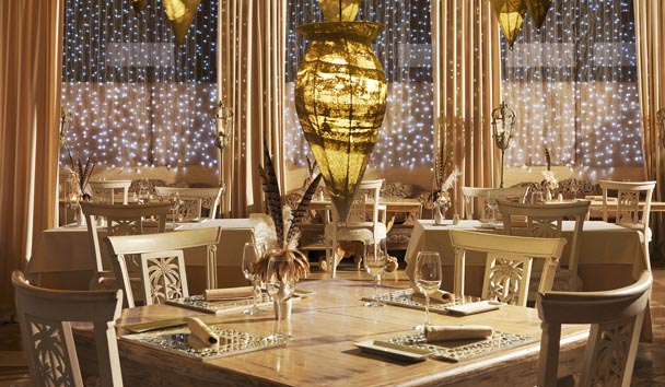 Royal Garden Villas & Spa: Jardin Restaurant