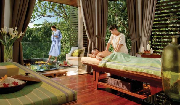 Gaya Island Resort: Treatment in the Spa Village