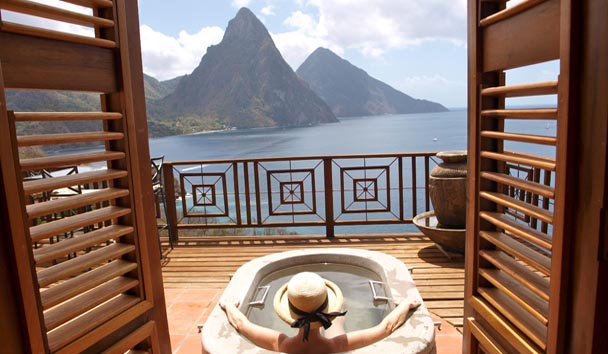 Caille Blanc, St Lucia