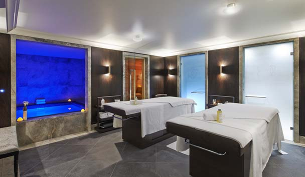 Spa area at L'Apogee, Courchevel 1850