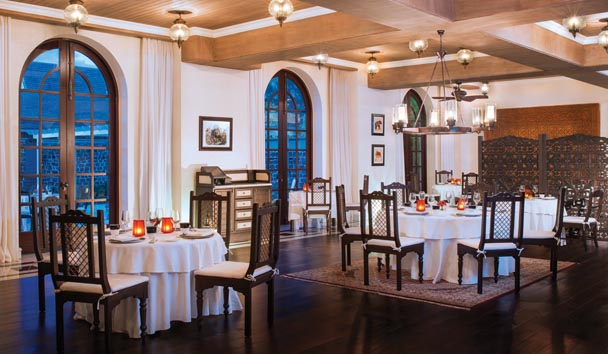 The St. Regis Mauritius Resort: Le Manoir Dining Room
