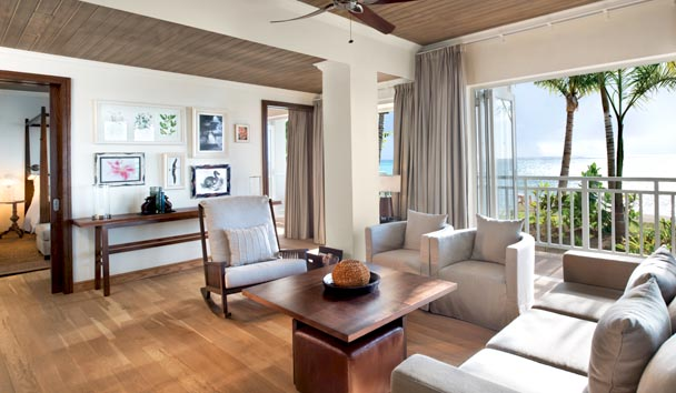 The St. Regis Mauritius Resort: Beachfront St. Regis Suite