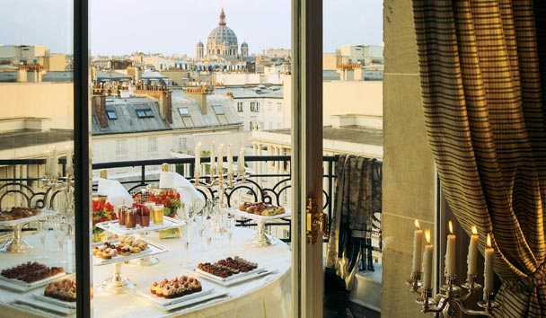Le Bristol Paris: Terrace Dining