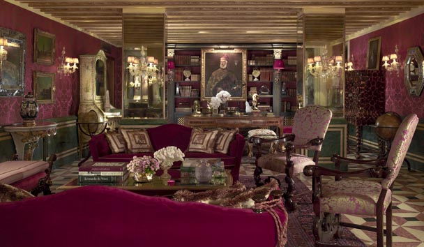 The Gritti Palace: Explorer's Library