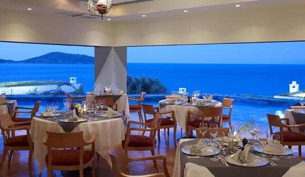 Elounda Peninsula All Suite Hotel: Calypso Restaurant