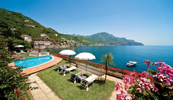 Palazzo Avino: Sea View from Clubhouse Terrace and Pool