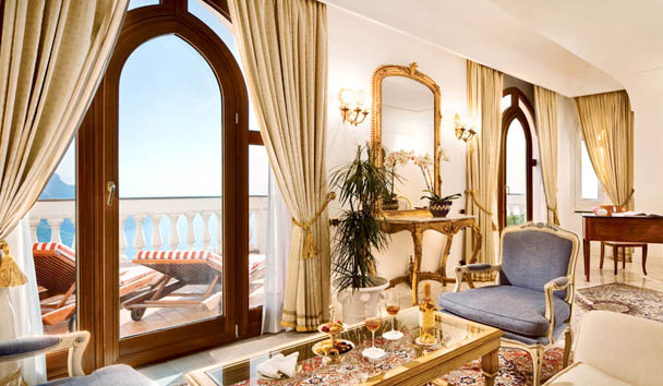 Palazzo Avino: Deluxe Suite with Sea View and Terrace