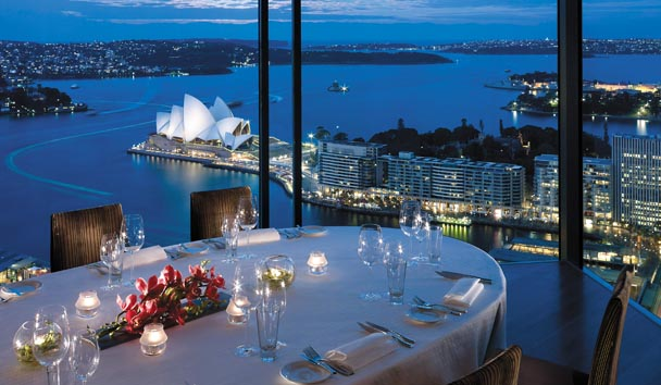 Shangri-La Hotel, Sydney: Altitude Restaurant - Private Dining Room