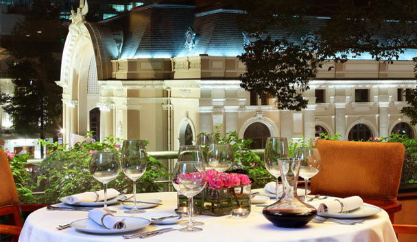Caravelle Saigon: Reflections Restaurant