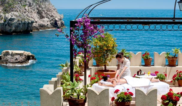 Belmond Villa Sant' Andrea: Outdoor Spa Treatment