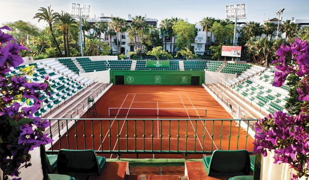 Puente Romano Beach Resort & Spa: Tennis Club