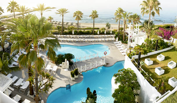 Puente Romano Beach Resort & Spa, Marbella: Beach Club