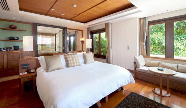 Trisara: Bedroom in Ocean View Pool Villa