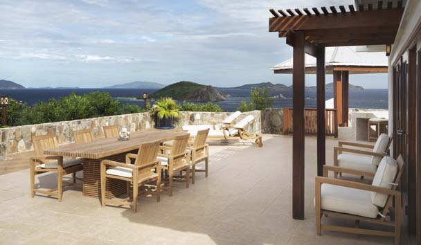 Crow's Nest - Peter Island Resort & Spa: Crow's Nest Villa Outdoor Dining