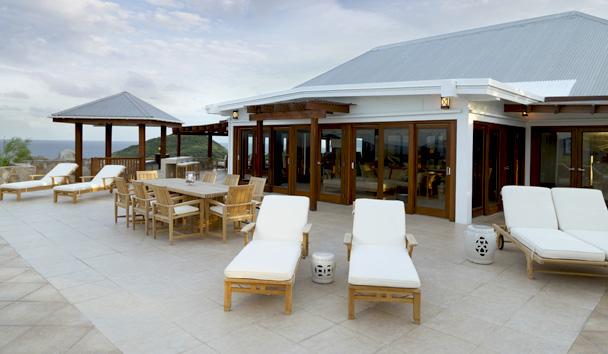 Crow's Nest - Peter Island Resort & Spa: Crow's Nest Villa Deck