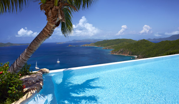 Falcon's Nest - Peter Island Resort & Spa: Swimming Pool View