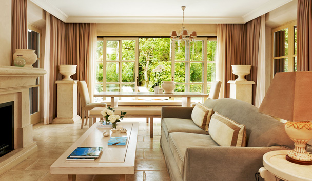 Villas at Marbella Club Hotel, Golf Resort & Spa: Villa Lounge