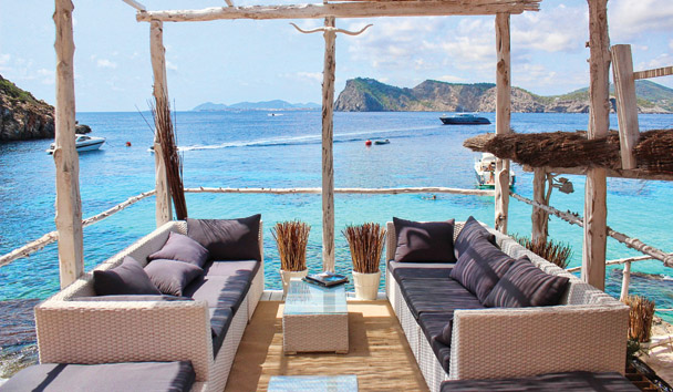 Tagomago Island: Lounge Deck by the Ocean