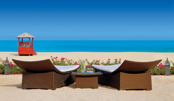 The Ritz-Carlton, Dubai: Private Beach