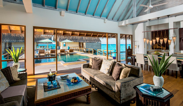 Four Seasons Resort Maldives at Landaa Giraavaru:Two Bedroom Land and Ocean Suite