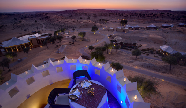 The Ritz-Carlton Ras Al Khaimah, Al Wadi Desert: Private Dining