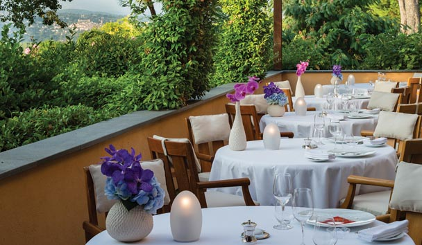 Terre Blanche Hotel Spa Golf Resort: Dining on the Terrace