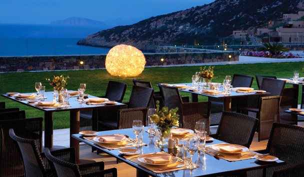 Daios Cove Luxury Resort & Villas: Pangea Restaurant