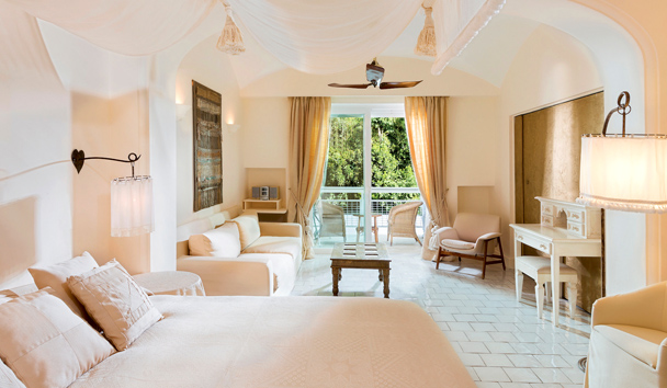 Capri Palace Hotel & Spa: Deluxe Double Seaside Room
